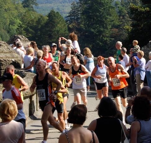 Coming off the dam bridge at 1.5mls - 03