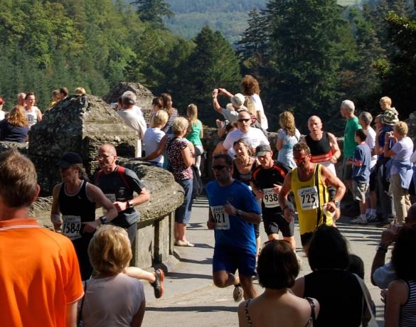 Coming off the dam bridge at 1.5mls - 05