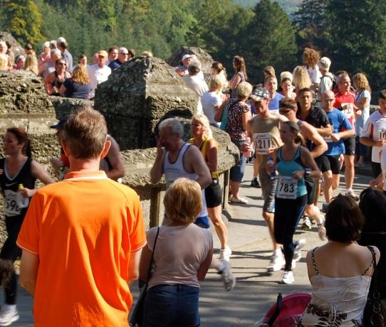 Coming off the dam bridge at 1.5mls - 15