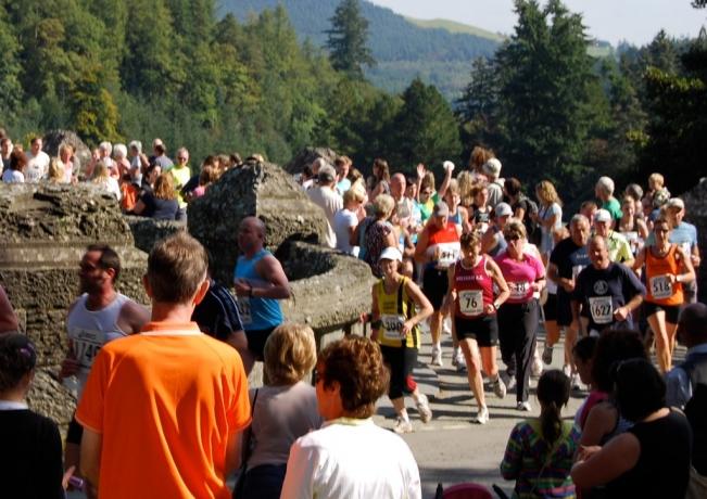 Coming off the dam bridge at 1.5mls - 19
